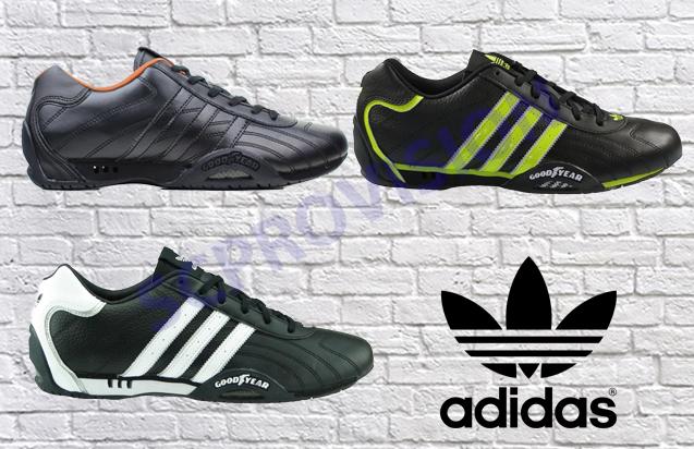 Adidas Originals: Goodyear Adi Racer Low Trainers, White