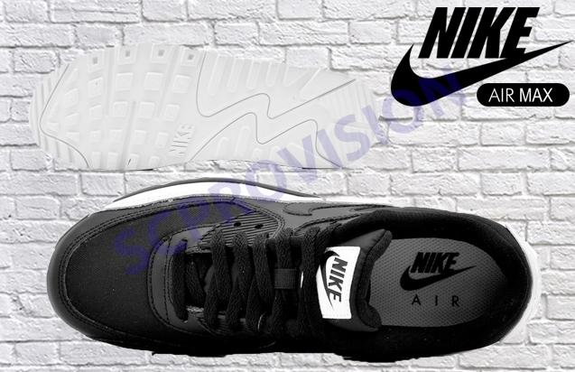 Nike Air Max 90 Essential Schwarz Weiß 537384 082