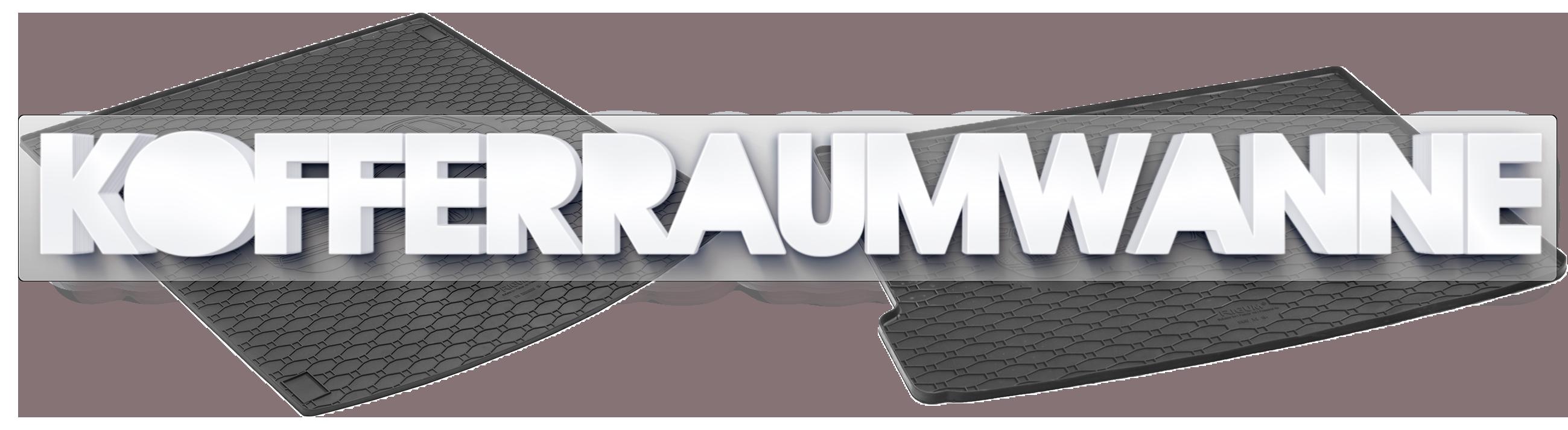 ab 2015 IV-Gen. Unterer Kofferraumwanne mit Anti-Rutsch für Kia Sportage Bj