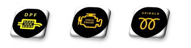 Kontrolki DPF Check Engine Świece Spirala Regeneracja czyszczenie hydrodynamiczne Filtrów DPF KAT DPF Cleaner Maszyna Domański Serwis Łuków